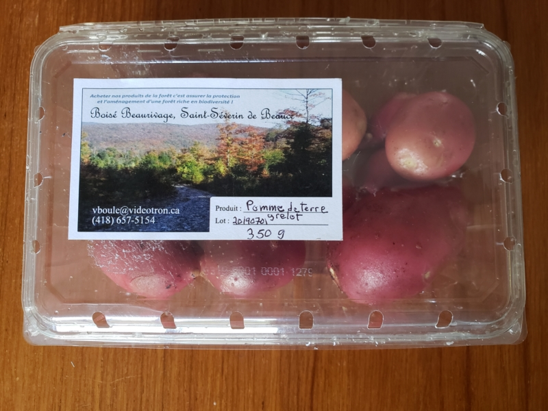 Pomme de terre grelots biologiques  350 g